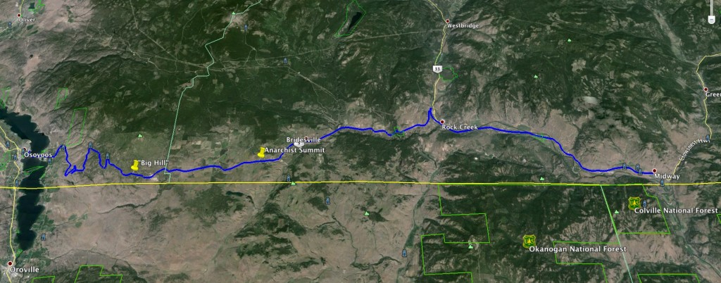 Midway to Osoyoos