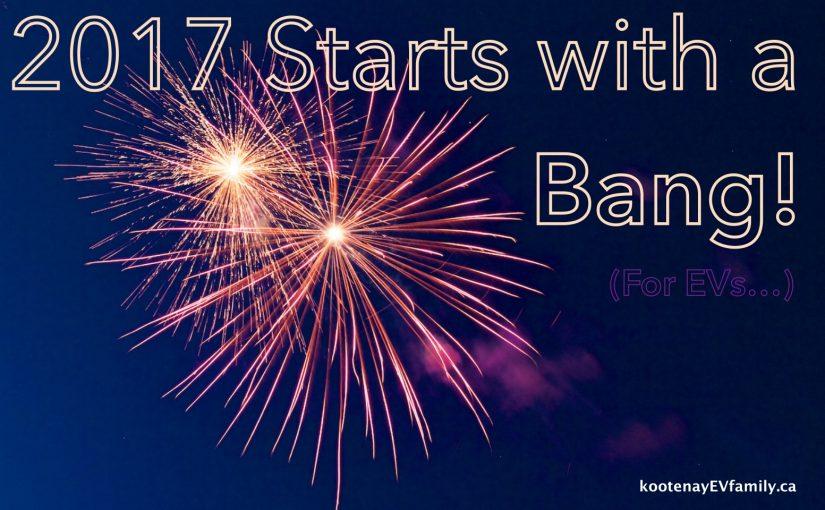 2017 starts with a bang!