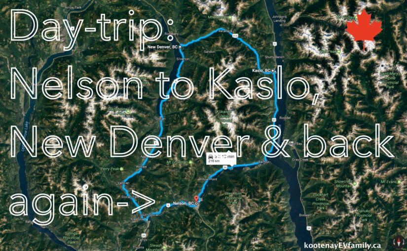 Day-trip:  Nelson to Kaslo and New Denver