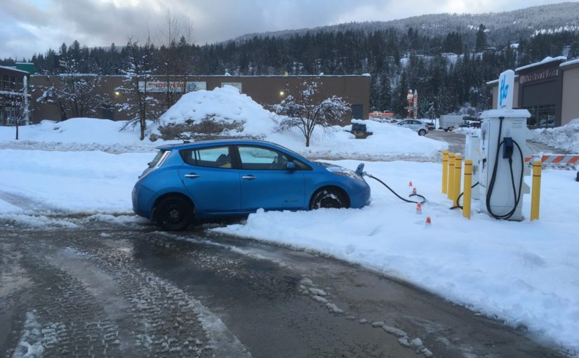 Kootenay fast chargers:  first trip! (and what they mean to short-range EVs)